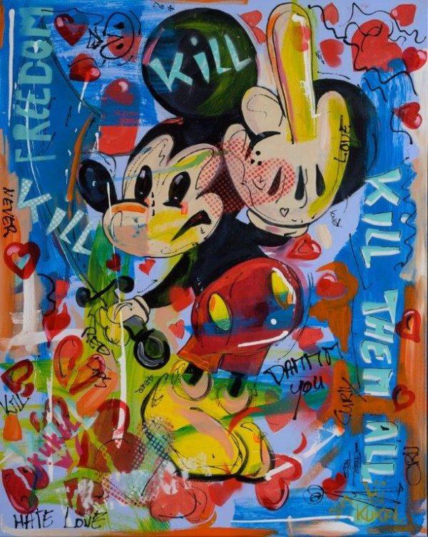 Hans van Kuijk - mickey mouse